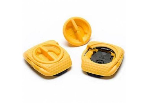 Speedplay Zero Aero Walkable Cleats - Yellow