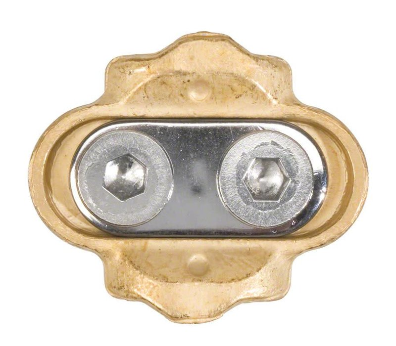 Crank Brothers Premium Cleat Ultra Durable Brass with 6 degrees of Float