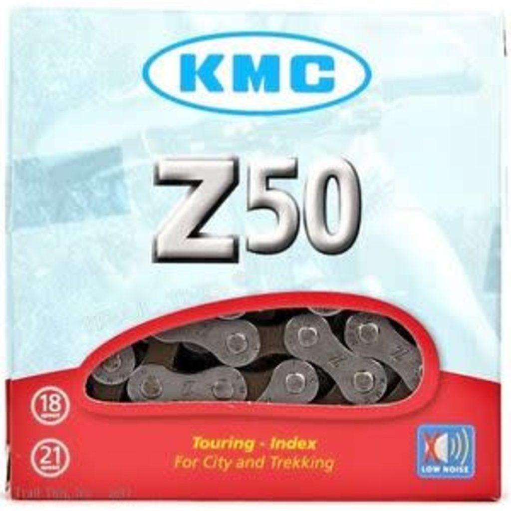 KMC Z50 Chain 5,6,7 Speed 7.3mm 116 Links