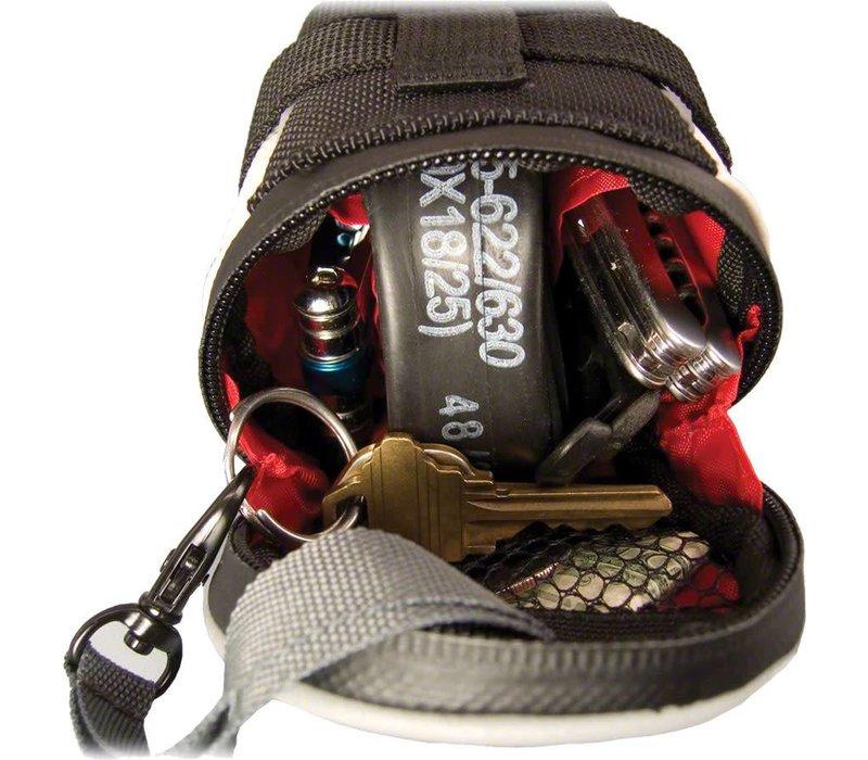 Banjo Brothers Seat Bag Deluxe: Mini, Black