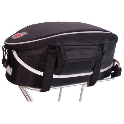 Banjo Brothers Banjo Brothers Rack Top Bag: Black