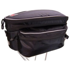 Banjo Brothers Banjo Brothers Expanding Rack Top Bag: Black