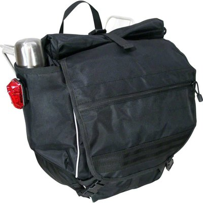 Banjo Brothers Banjo Brothers Waterproof Backpack Pannier: Black