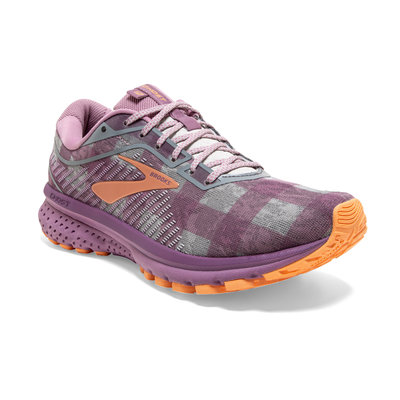 BROOKS Women's Ghost 12 Camper Plaid