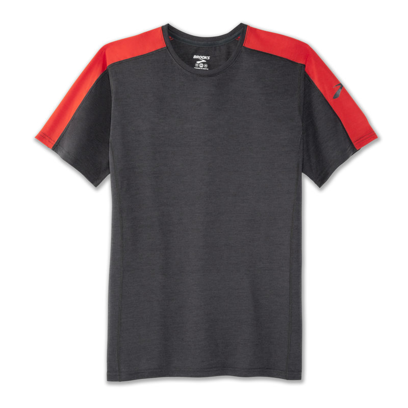 BROOKS Men's Distance Short Sleeve