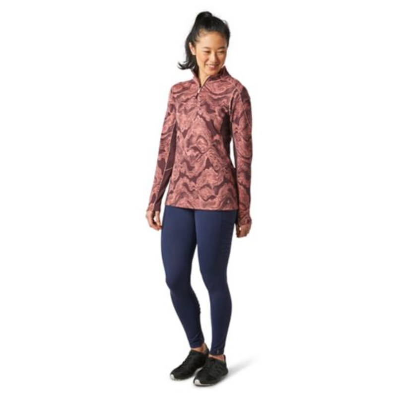 SMARTWOOL Women's Merino Sport 250 Long Sleeve 1/4 Zip