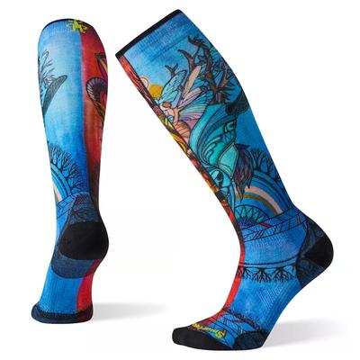 SMARTWOOL Women's PhD Ski Ultra Light Print Socks