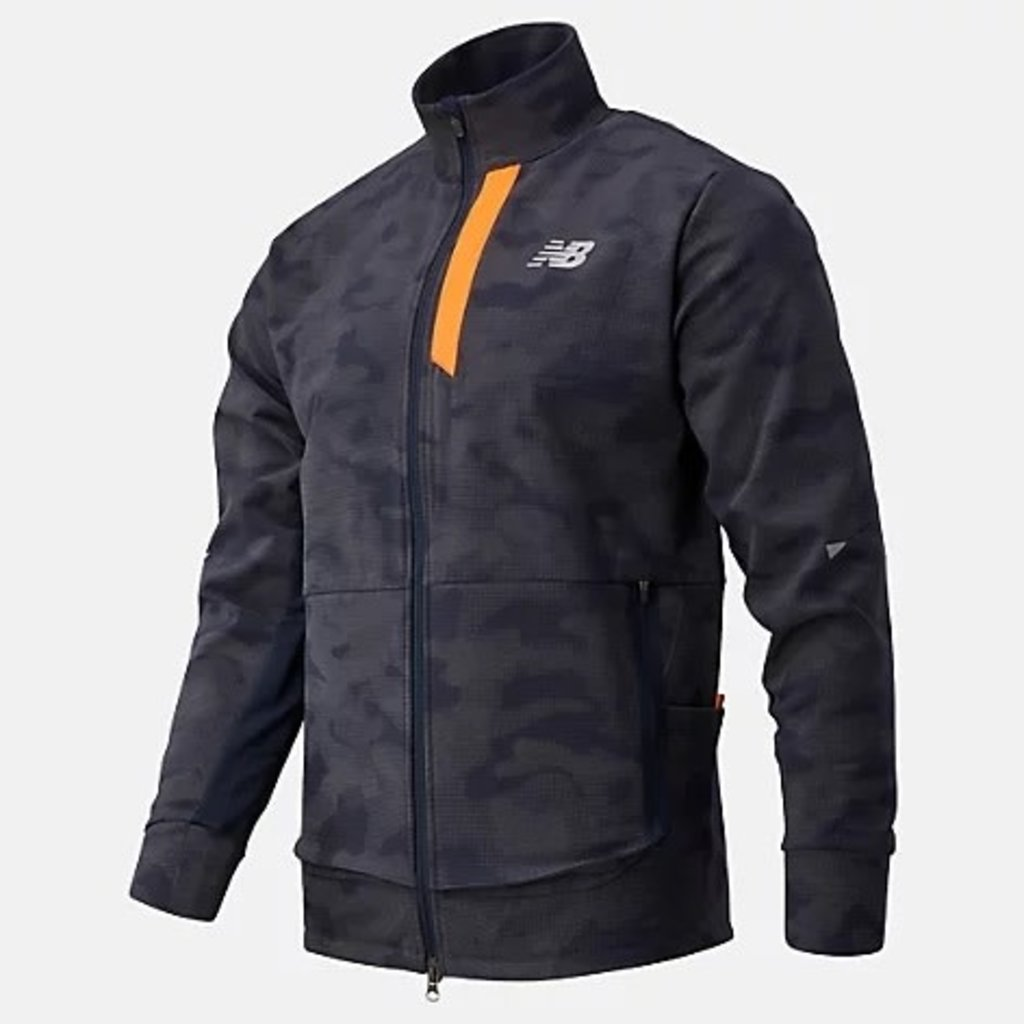 NEW BALANCE Men's Reflective Impact Run Winter Jacket