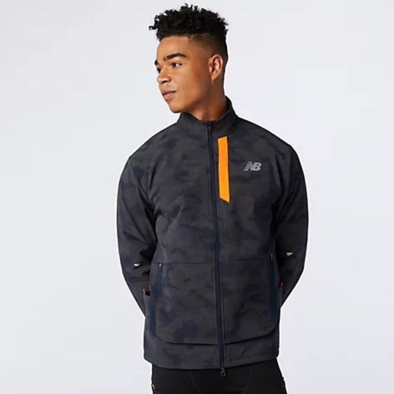 NEW BALANCE Men's Reflective Impact Run Winter Jacket