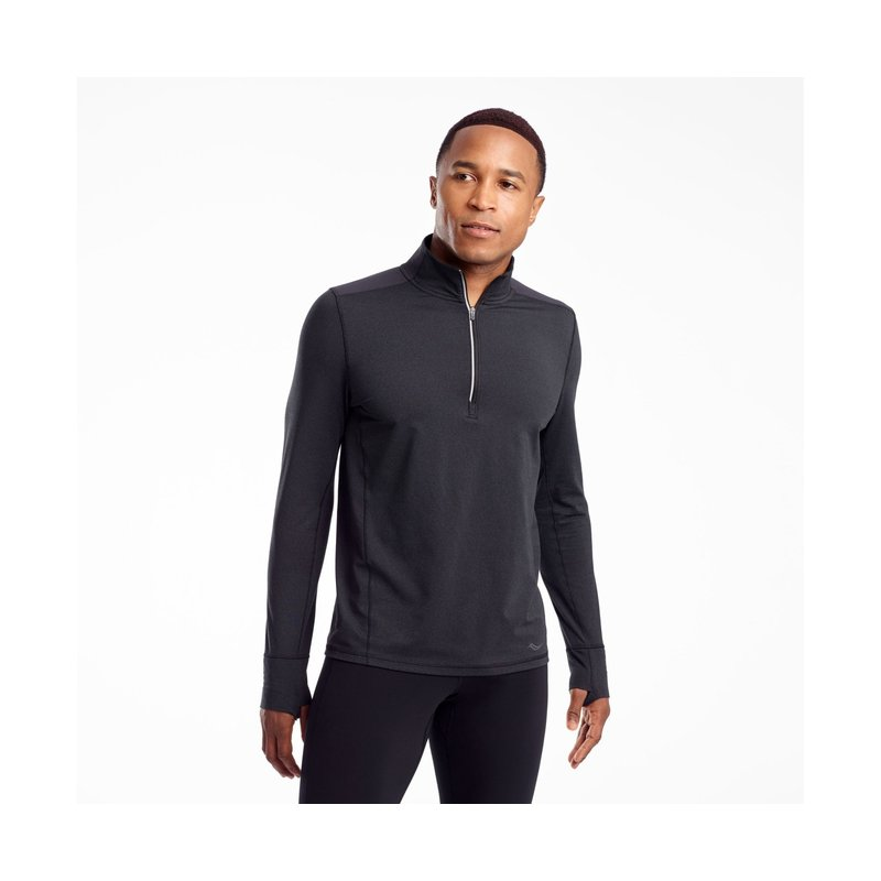 SAUCONY Men's Challenge Quarter Zip