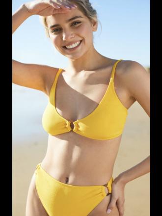 e0deef2a754 Minkpink Loren Ring Bralette Bikini Top in Marigold