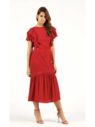 5d75b98fd5413 Cleobella Mackenzie Dress in Brick