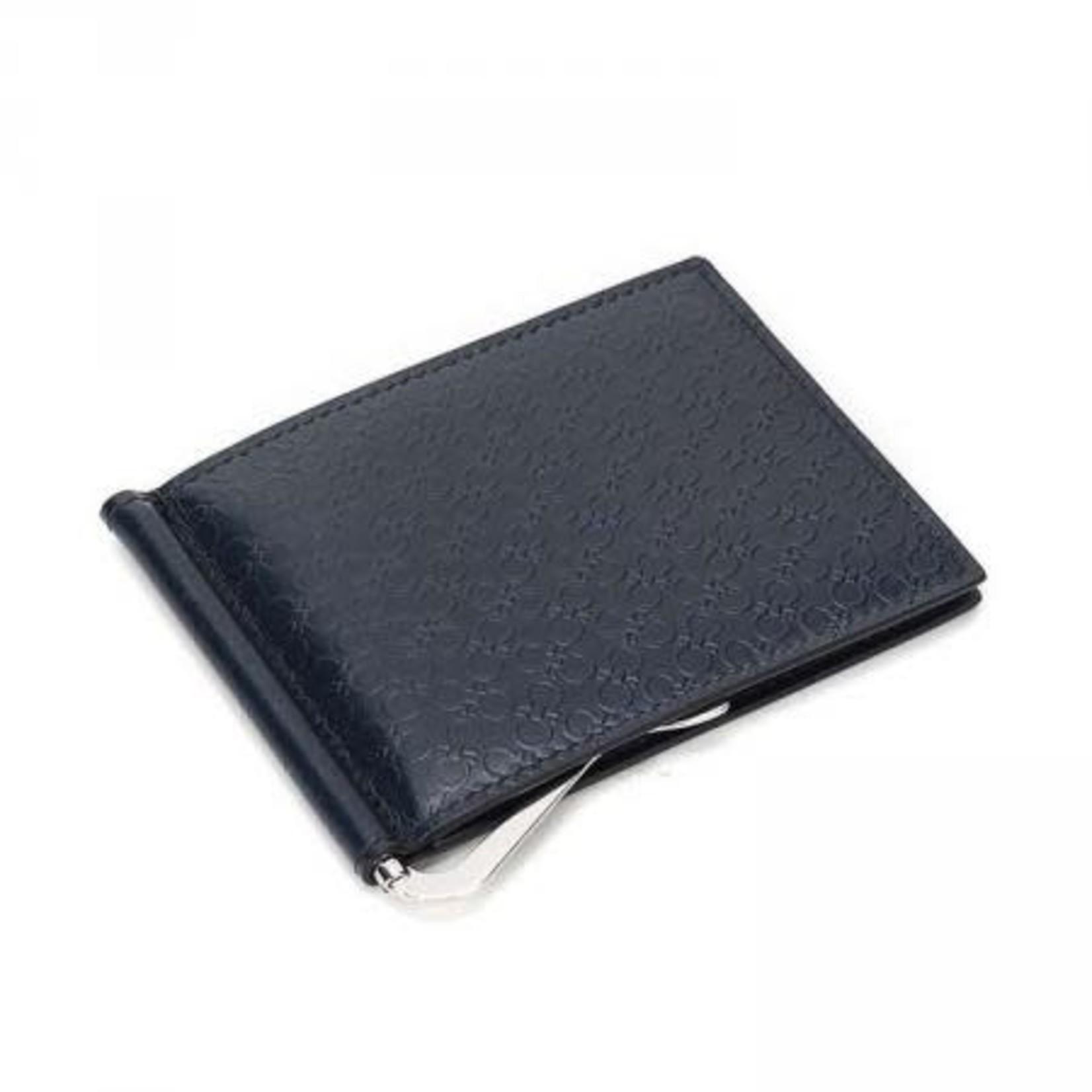 SALVATORE FERRAGAMO SALVATORE FERRAGAMO - CARD HOLDER MONEY CLIP - 66A116