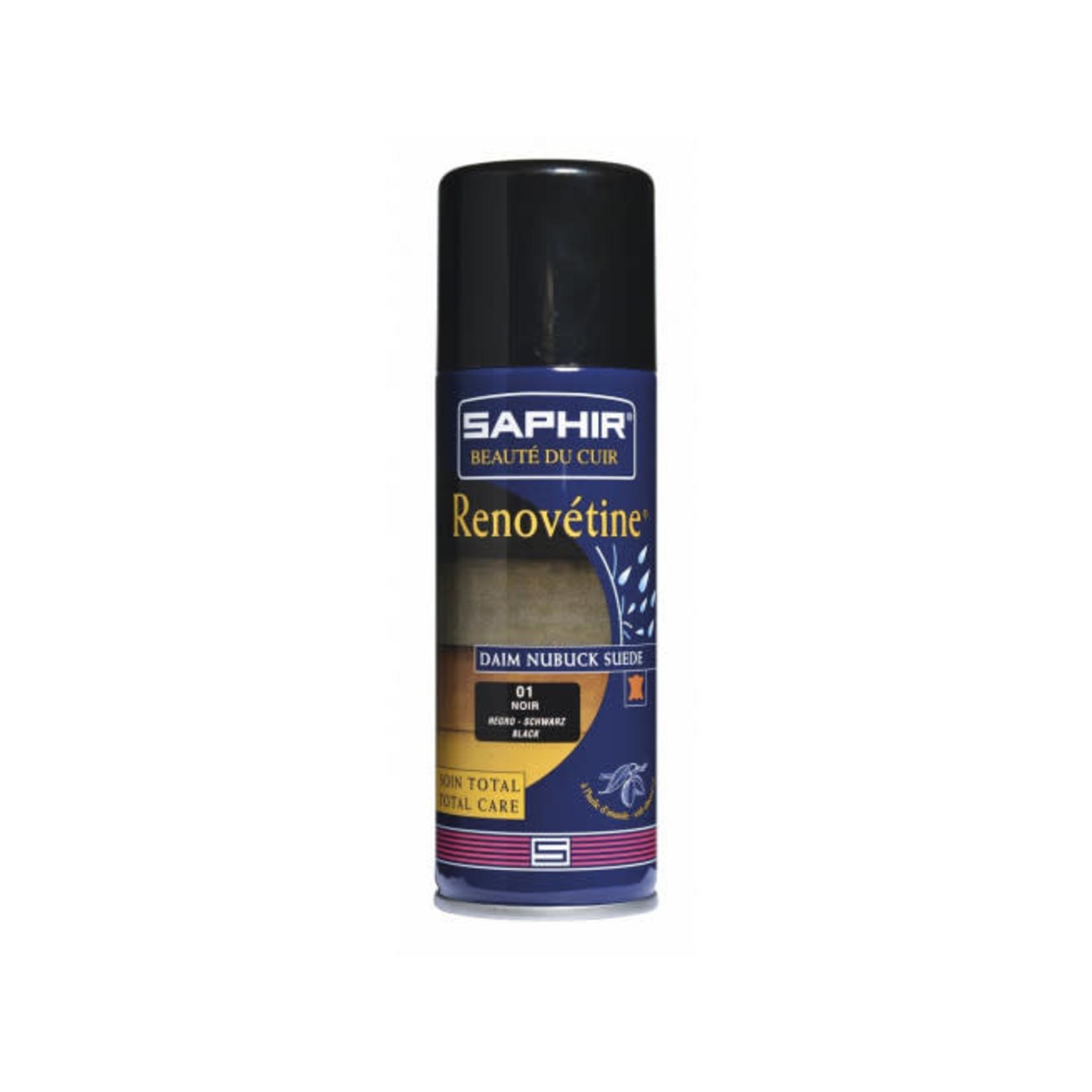 SAPHIR Saphir - Renovétine noir pour daim