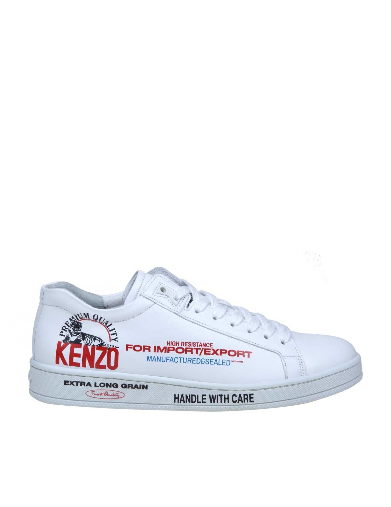 KENZO Kenzo - Baskets Tennix Low Top Unisexe