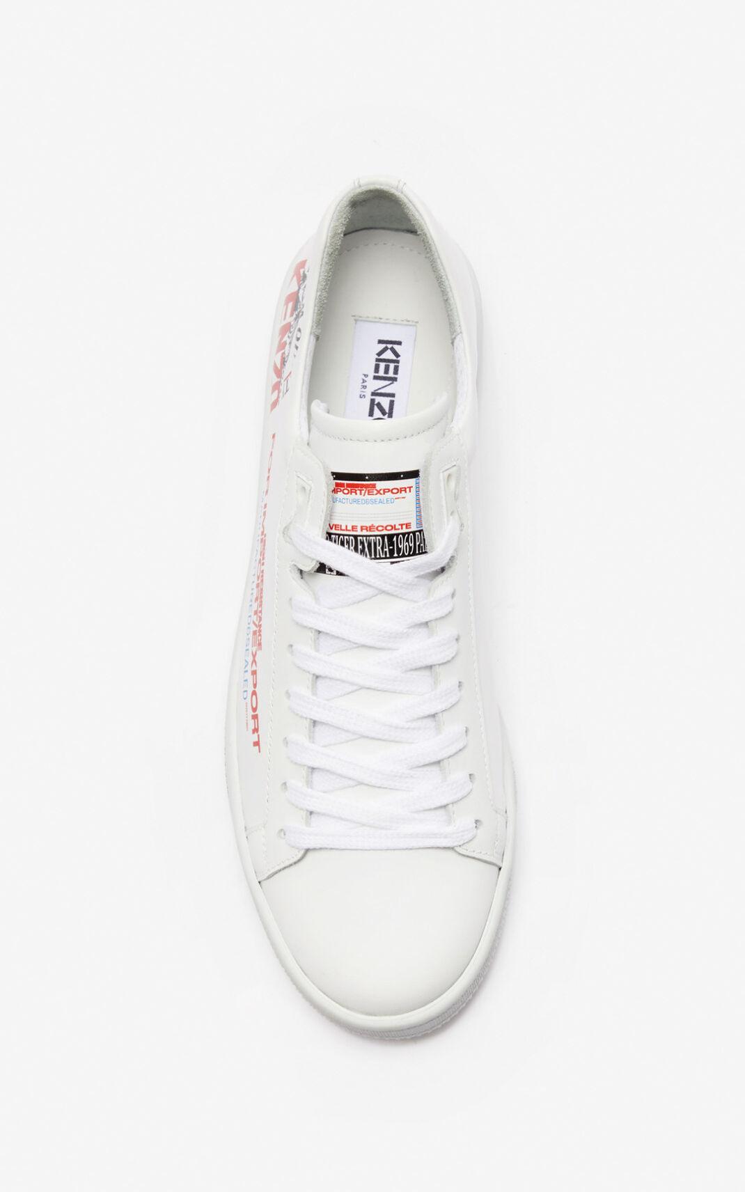 KENZO Kenzo - Unisex Tennix Low Top Sneakers