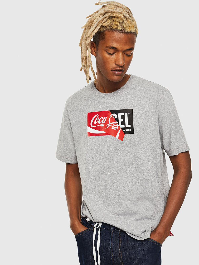 DIESEL DIESEL T-SHIRT COCA COLA T-JUST