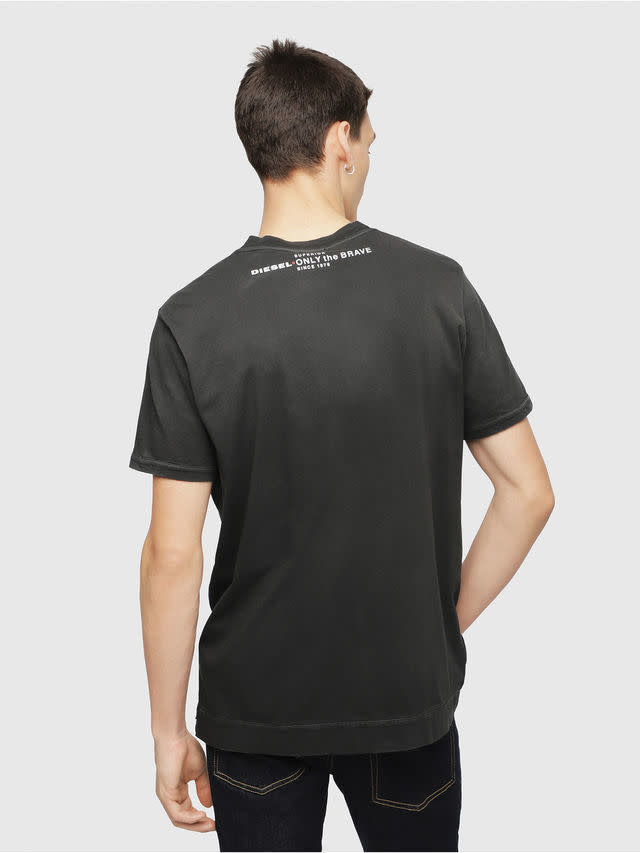 DIESEL DIESEL T-SHIRT T-SHOJI BLACK