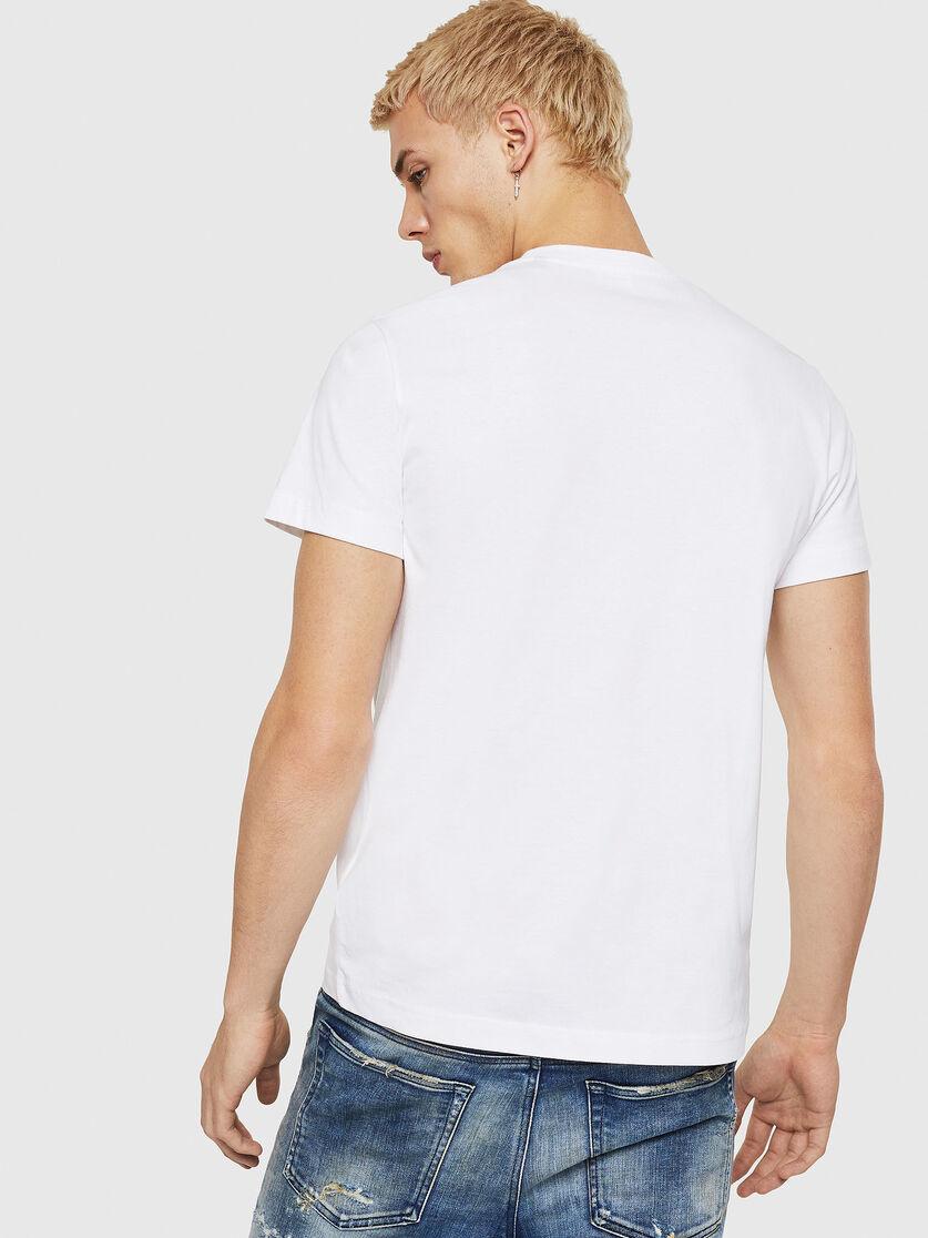 DIESEL DIESEL T-SHIRT T-DIEGO A7 - WHITE