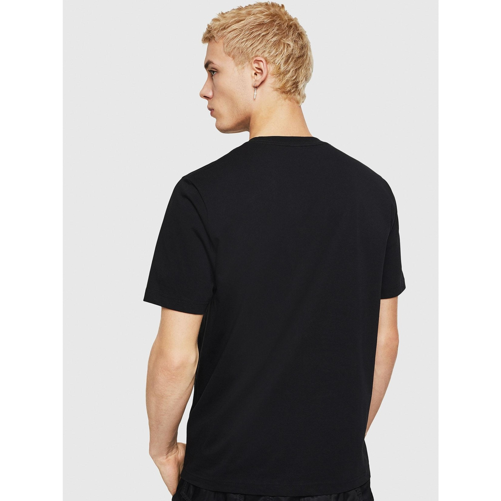 DIESEL DIESEL T-SHIRT T-JUST A5 - BLACK