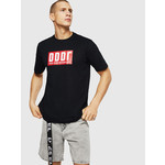 DIESEL DIESEL T-SHIRT T-JUST A9 - BLACK