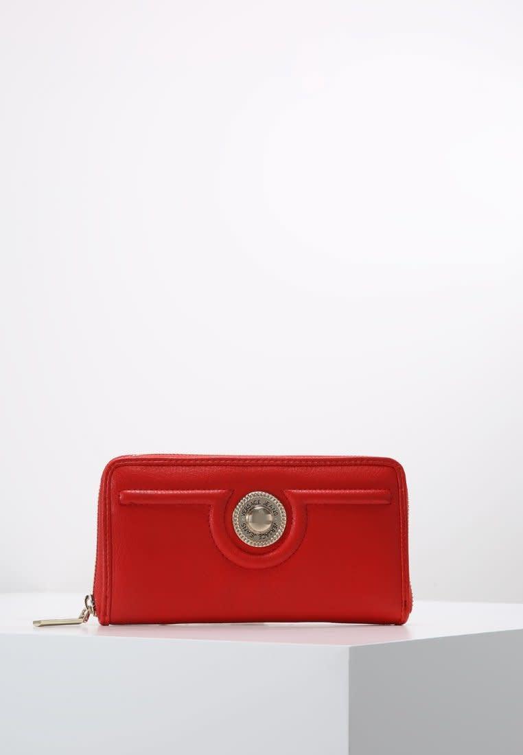 VERSACE JEANS COUTURE Versace Jeans Couture - Porte monnaie femme - Linea L Dis 1 - Rouge