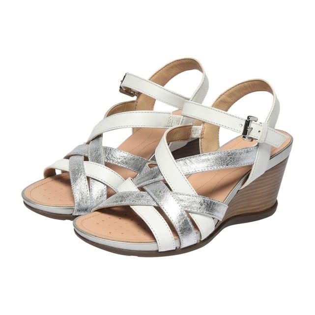 GEOX Geox - Women's Wedge Sandals - D Dorotha