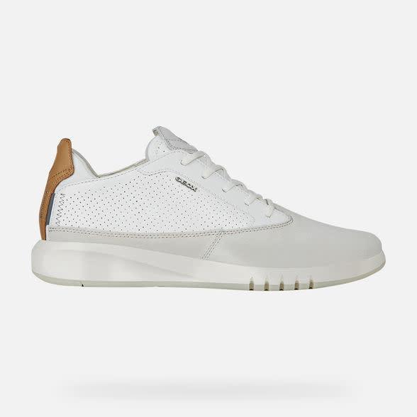 GEOX Geox - Men's Sneakers - Aerantis - Papyrus/White