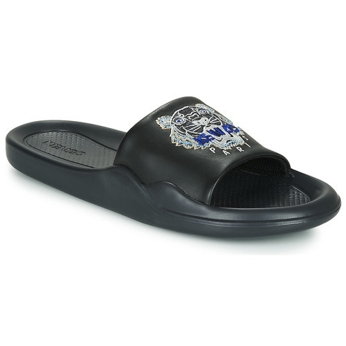 KENZO Kenzo - Men's Sandals - Pool Mule - Tiger - Black