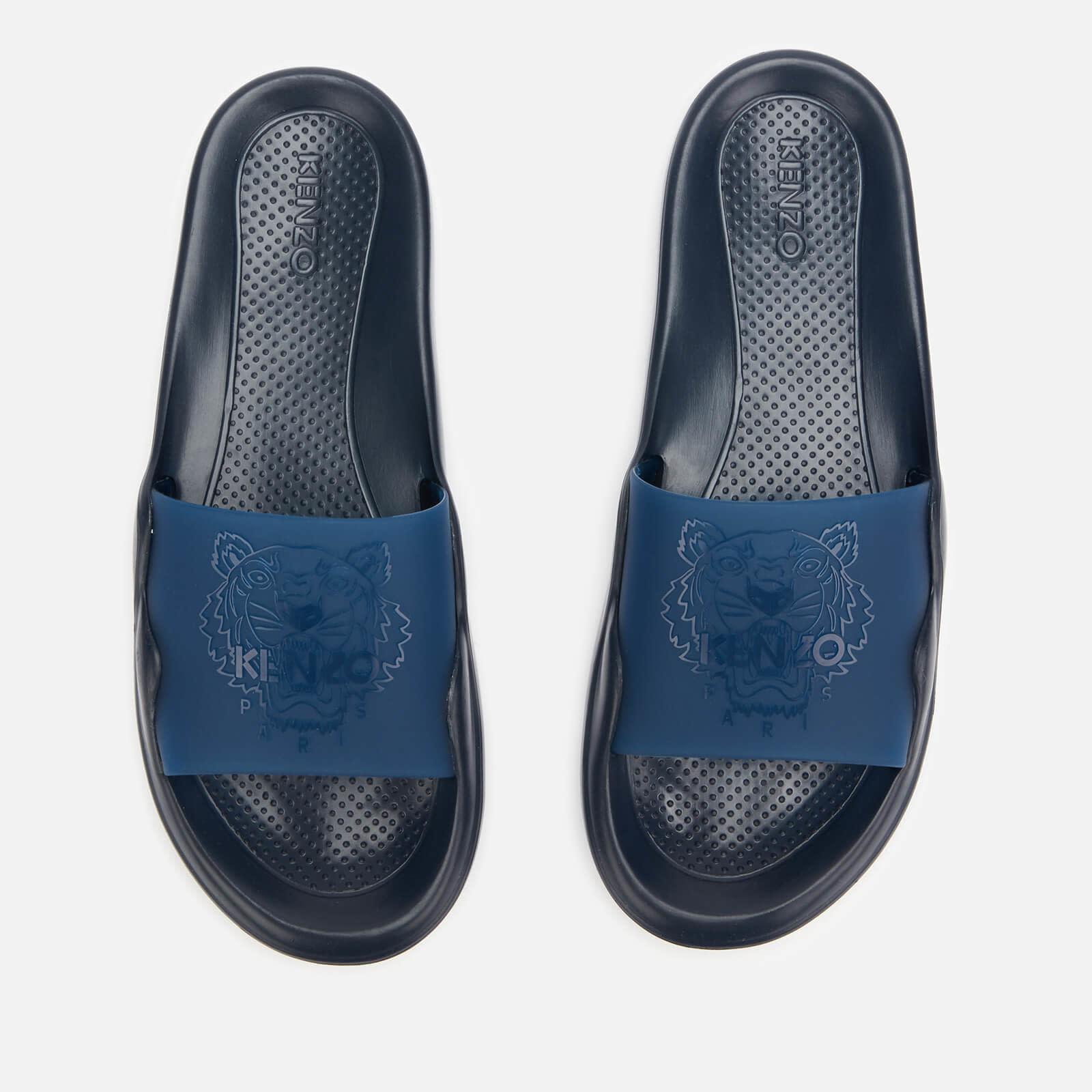 KENZO Kenzo - Men's Sandals - Pool Mule - Tiger - Navy