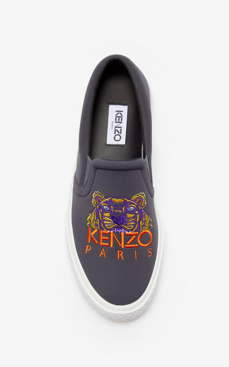KENZO Kenzo - Baskets Slip On K-Skate Unisexe