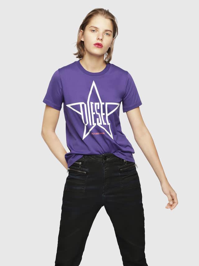 DIESEL Diesel - Women's T-Shirt - T-Sily-ZA