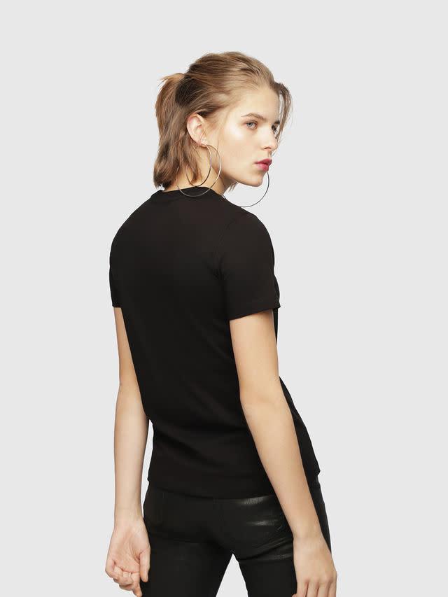 DIESEL Diesel - Women's T-Shirt - T-Sily-WH