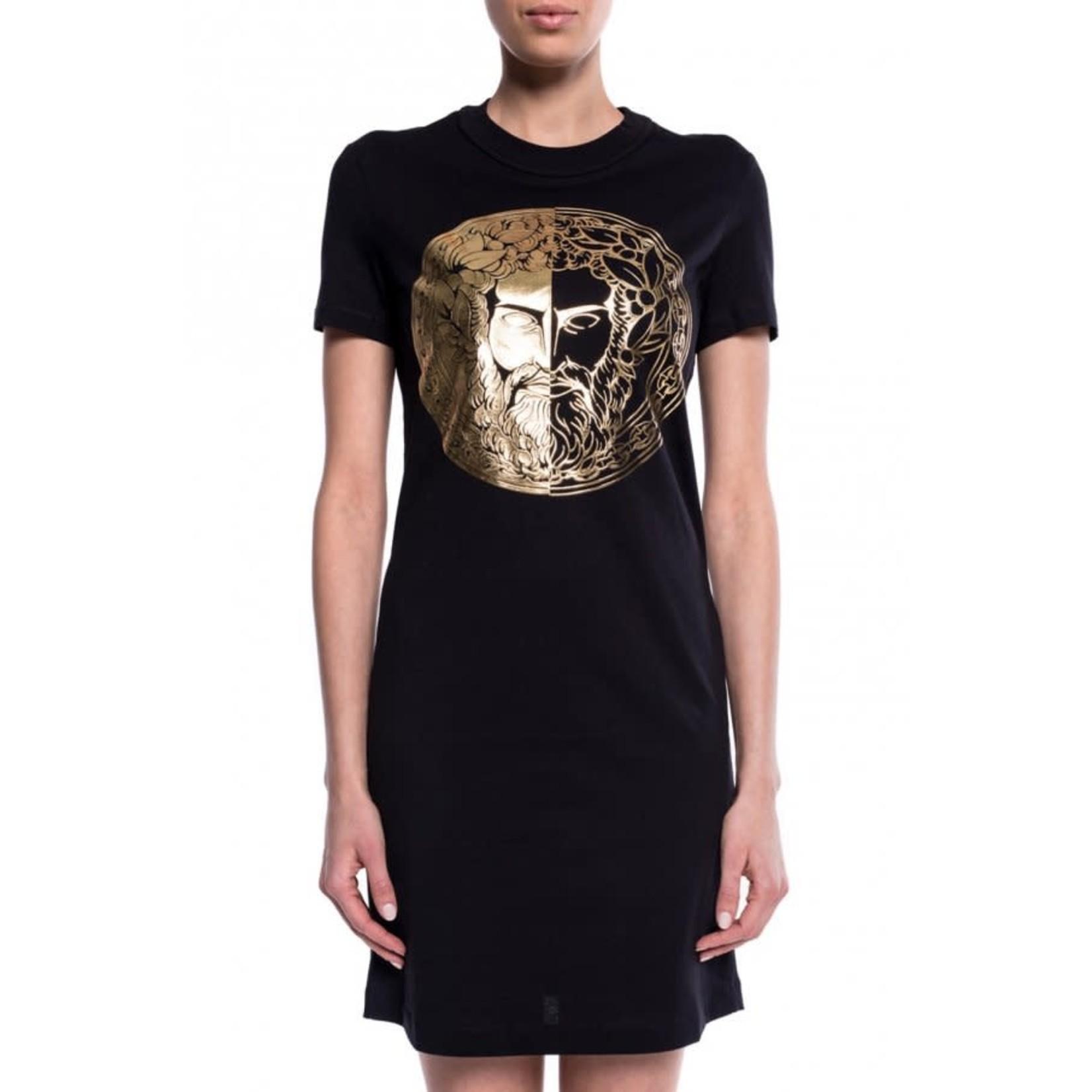 VERSACE JEANS COUTURE VERSACE JEANS COUTURE DRESS D2HVA4G0 - BLACK