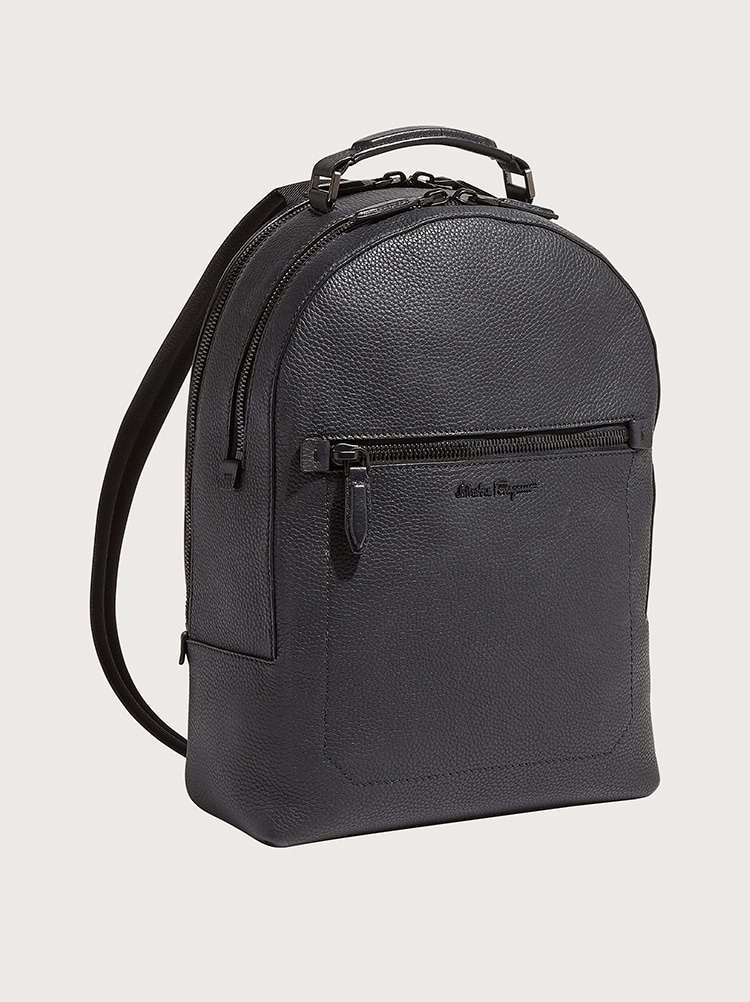 SALVATORE FERRAGAMO SALVATORE FERRAGAMO - BACKPACK FIRENZE - 684994