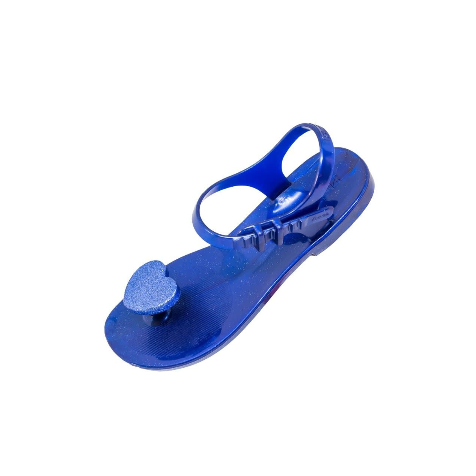 SHOELA MINI SHOELA SANDALE CORAZON - BLUE GLITTER