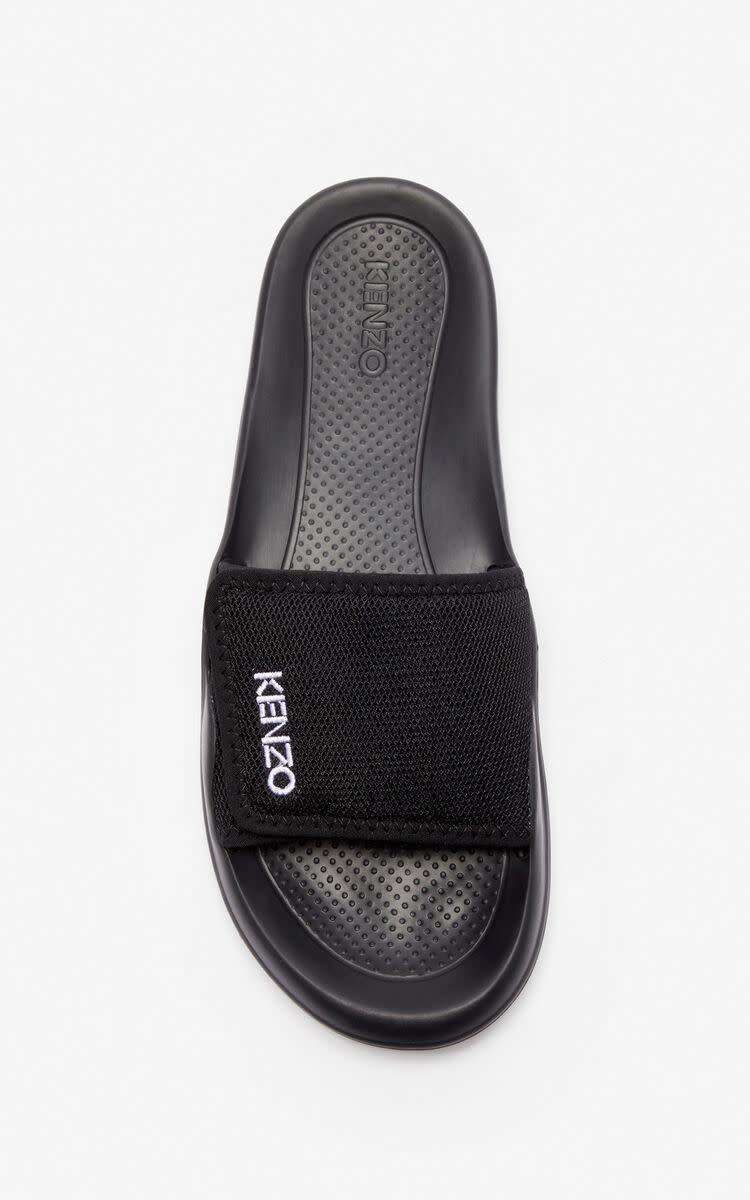 KENZO Kenzo - Men's Sandals - Pool Mule - Black