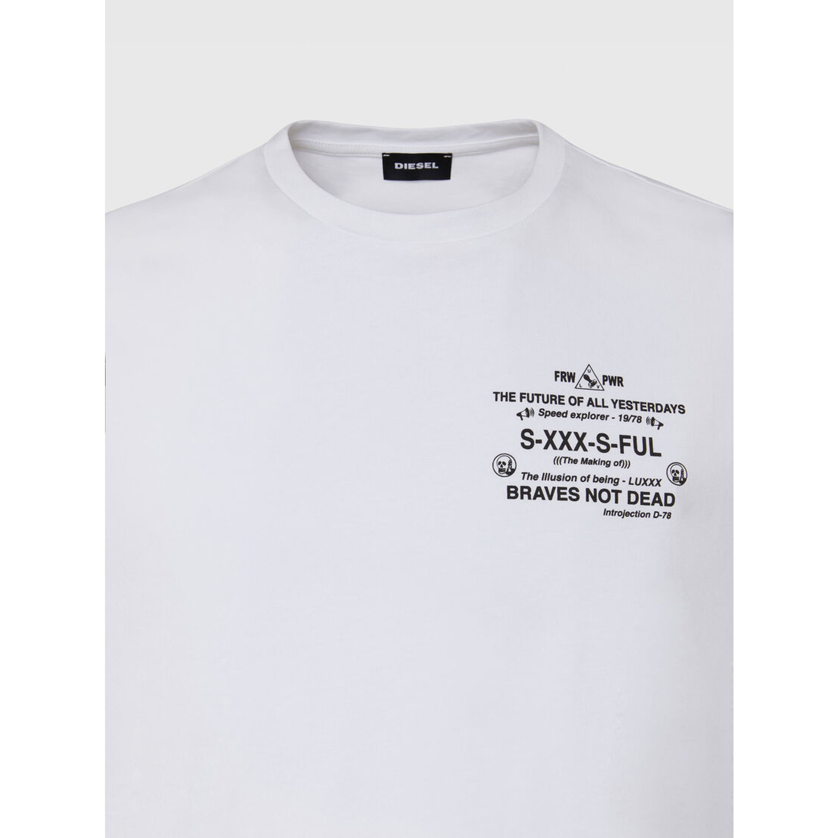 DIESEL DIESEL T-SHIRT DIEGOS X44 - WHITE