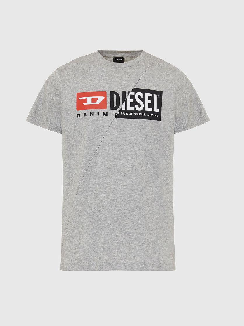 DIESEL DIESEL T-SHIRT DIEGO CUTY - GREY