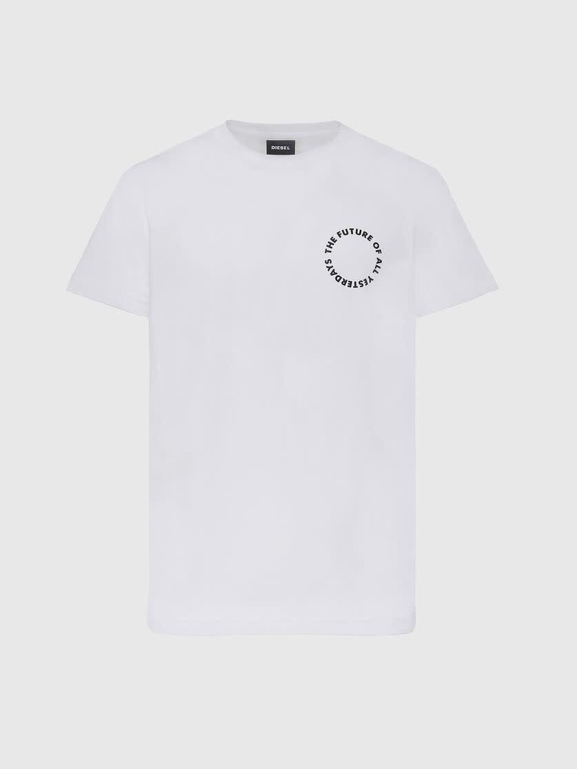 DIESEL DIESEL T-SHIRT DIEGOS X46 - WHITE