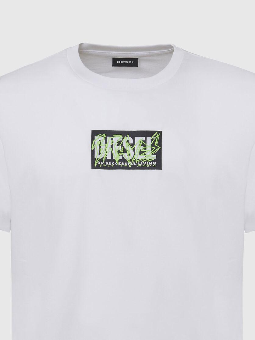 DIESEL DIESEL T-SHIRT DIEGOS N34 - WHITE