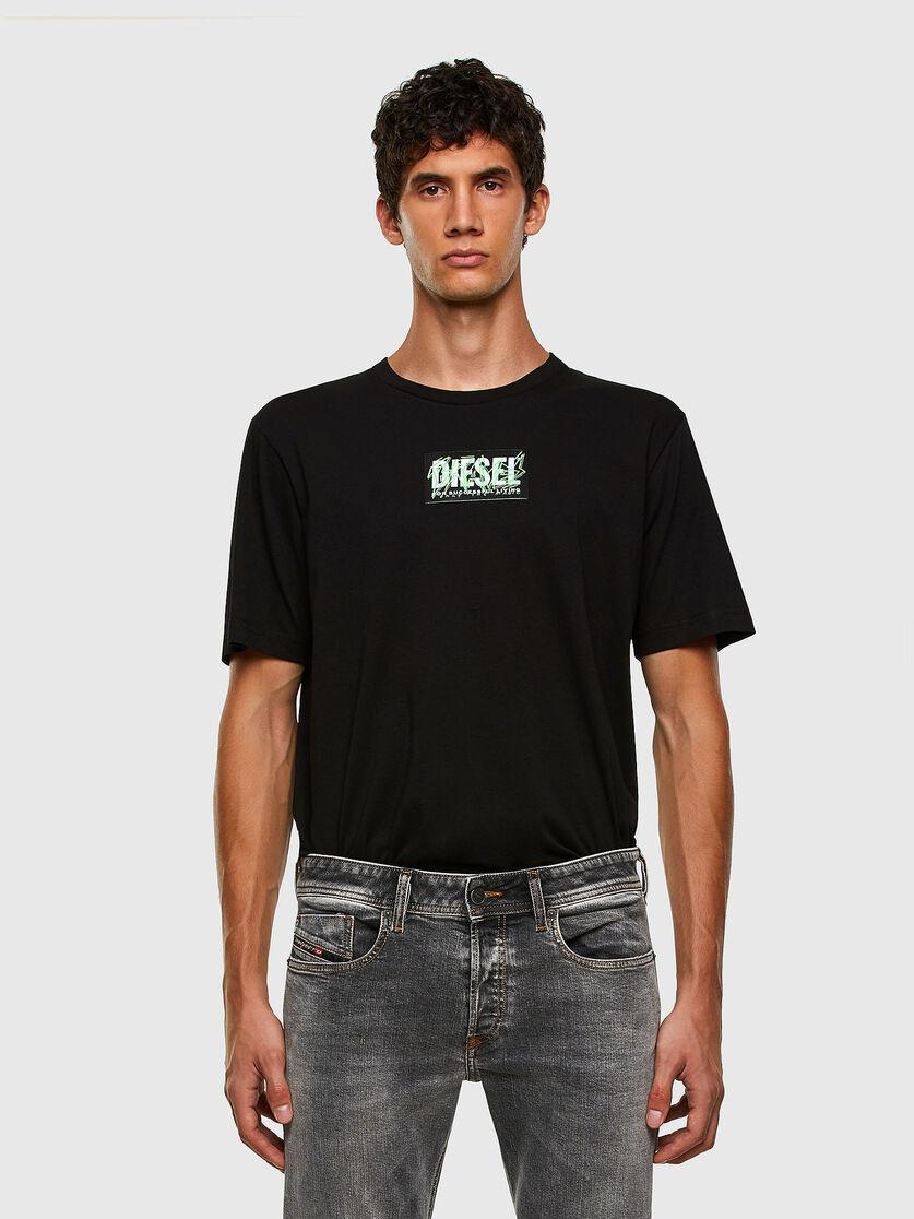 DIESEL DIESEL T-SHIRT DIEGOS N34 - BLACK