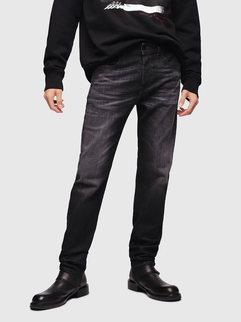 DIESEL DIESEL JEANS BUSTER 087AM - BLACK/DARK GREY