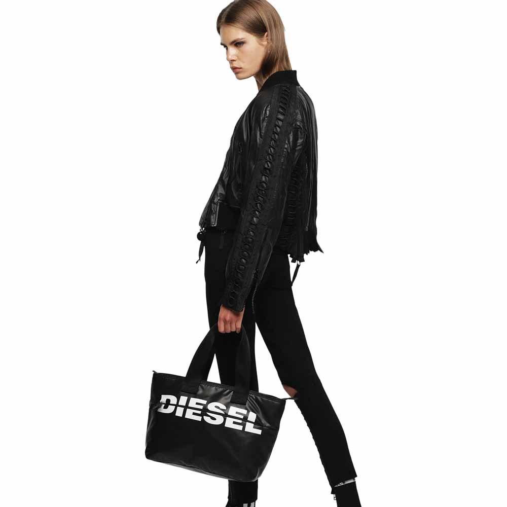DIESEL DIESEL BOLD SHOPPER BAG BLACK
