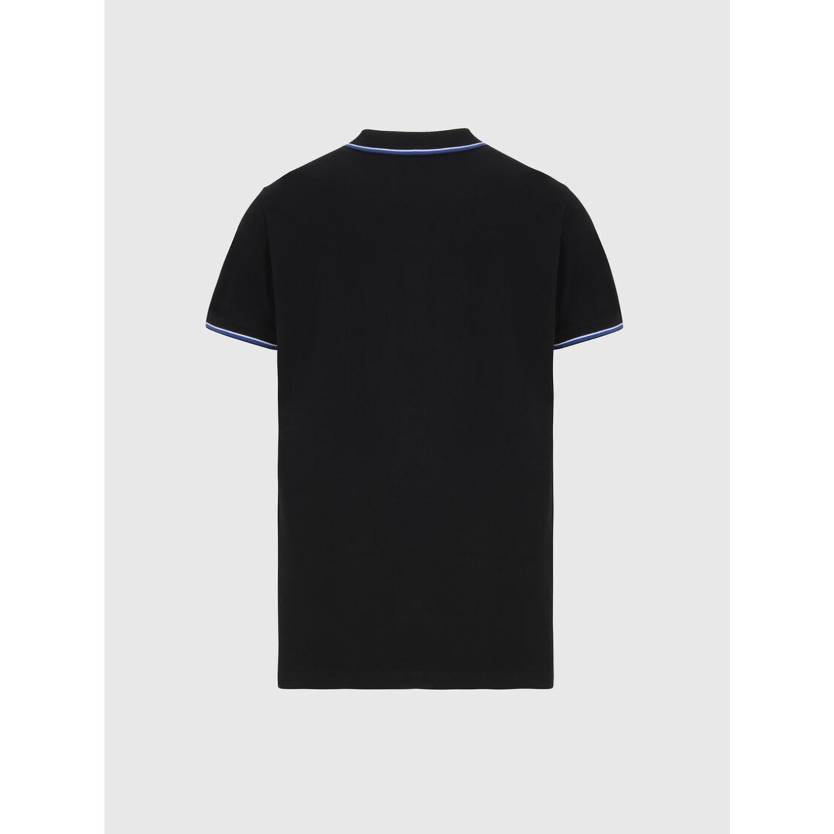 DIESEL DIESEL POLO T-RANDY NEW - BLACK