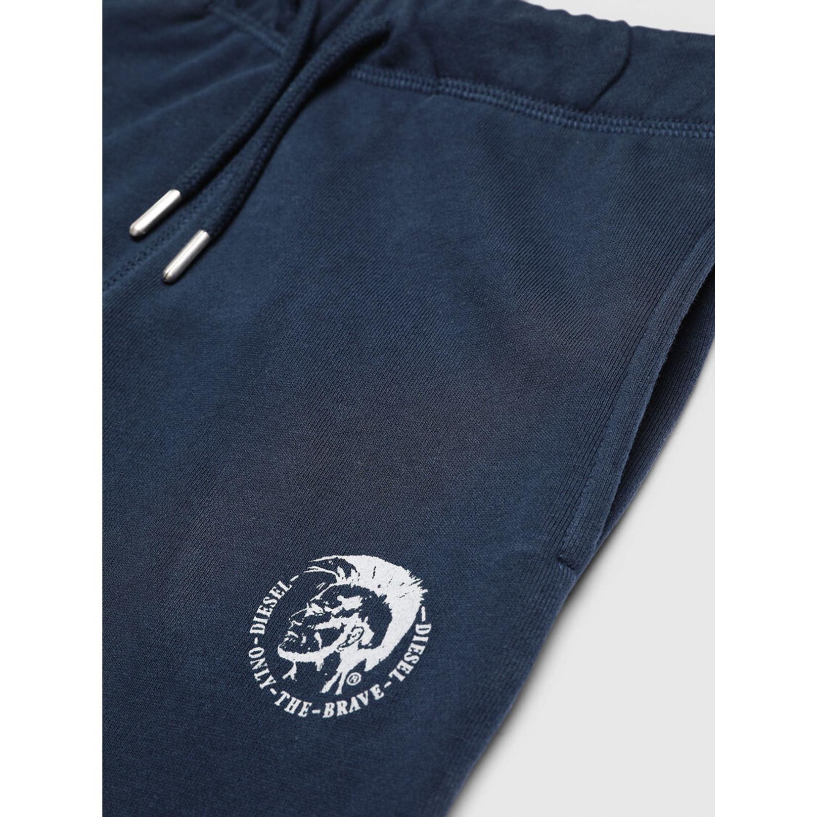DIESEL DIESEL FLEECE PANTS UMLB-PETER - BLUE