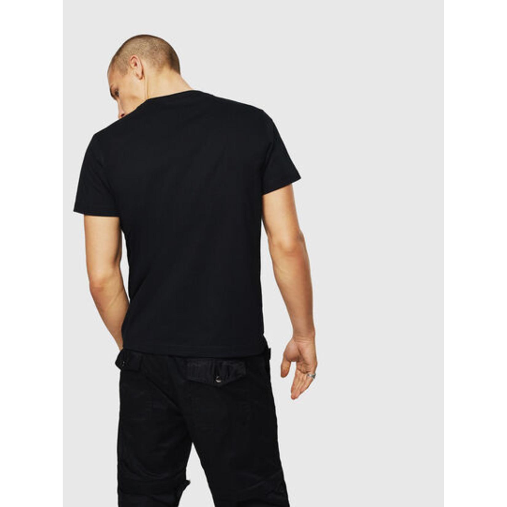 DIESEL DIESEL T-SHIRT T-DIEGO A3 - BLACK