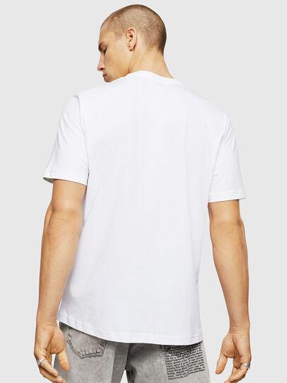 DIESEL DIESEL T-SHIRT T-JUST A5 - WHITE