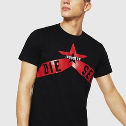 DIESEL DIESEL T-SHIRT T-DIEGO A7 - BLACK
