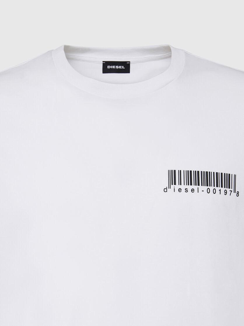 DIESEL DIESEL T-SHIRT  T-DIEGOS X67 - WHITE